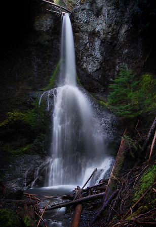 Marymere Falls Olympic National Park, Washington.  Copyright © 2008 All rights reserved.