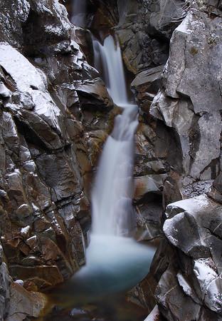 Christine Falls Mount Rainier National Park, Washington.  Copyright © 2009 All rights reserved.