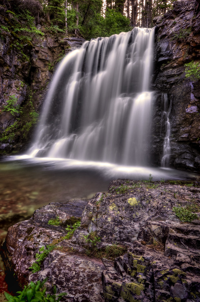 Rockwell Falls <br /> Glacier National Park, Montana.<br /> Copyright © 2009<br /> All rights reserved.
