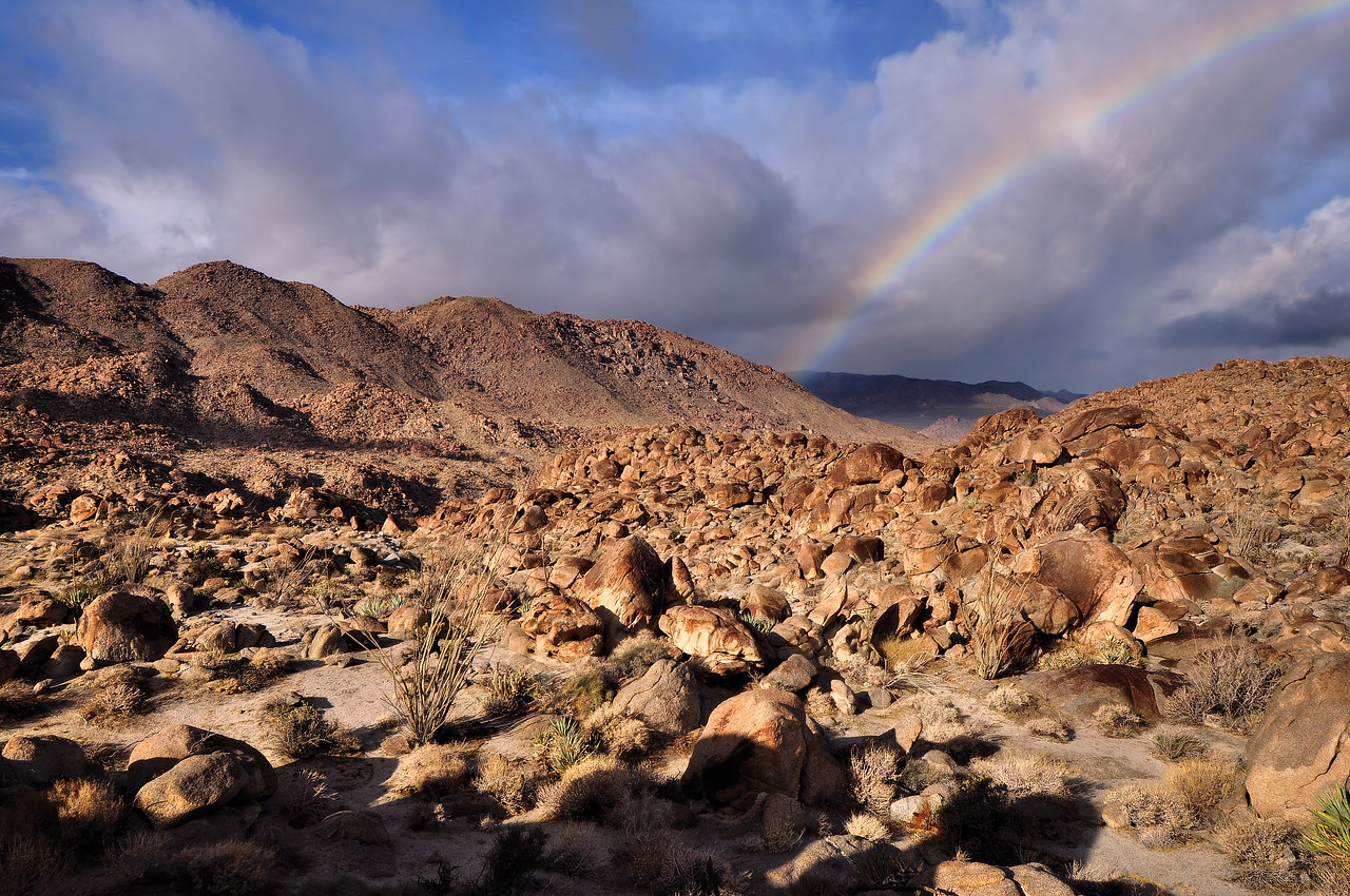 Devil's Canyon and Rainbow