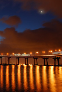Coronado Bay Bridge (Clearing Morning Storm) Coronado, California.  Copyright © 2008 All rights reserved.