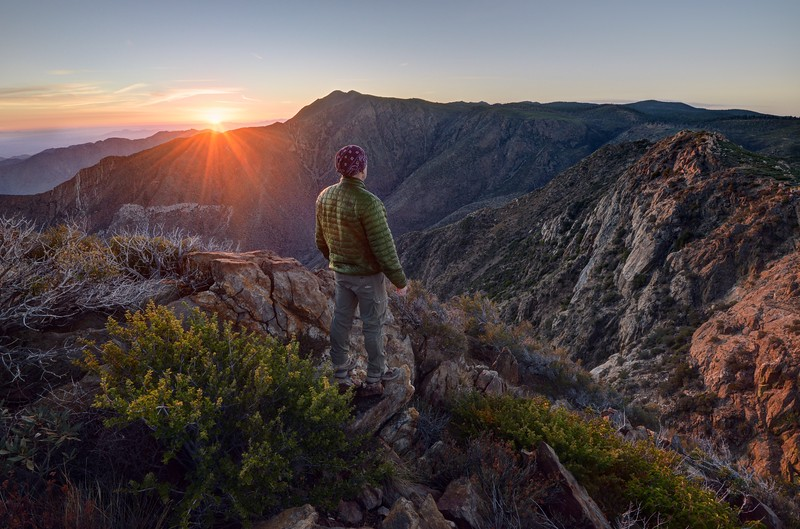 Sunrise Pacific Crest Trail