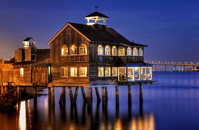 The Pier Cafe in Seaport Village San Diego, California.  Copyright © 2012 All rights reserved.