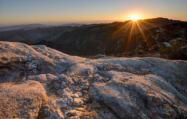 Sunrise Over Quartz