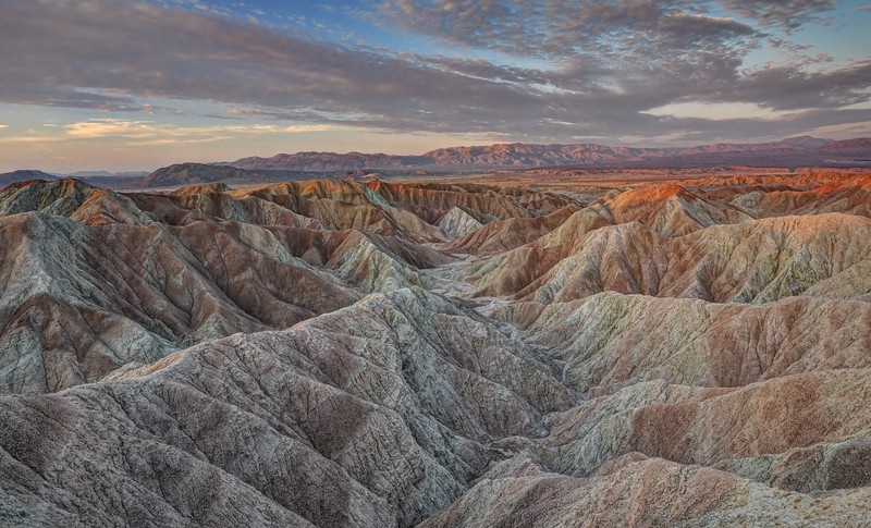 Colorful Borrego Badlands (Sunrise)