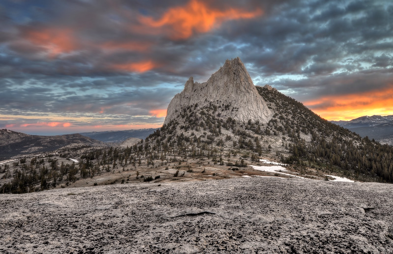 Cathedral Peak (Morning)<br /> Yosemite National Park, California.<br /> Copyright © 2011<br /> All rights reserved.
