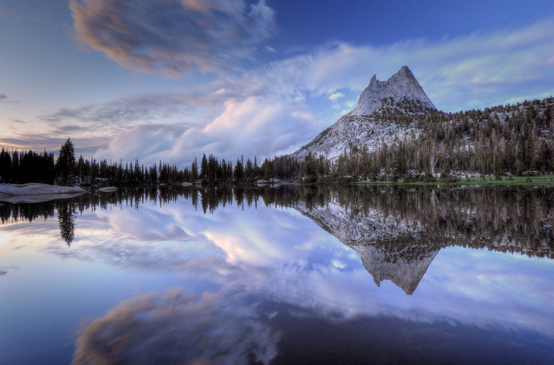 Reflections in Cathedral Lake<br /> Yosemite National Park, California.<br /> Copyright © 2011<br /> All rights reserved.