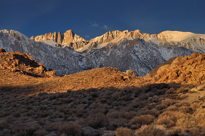 Morning Light on Mount Whitney