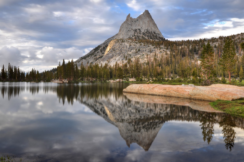 Cathedral Lake<br /> Yosemite National Park, California.<br /> Copyright © 2011<br /> All rights reserved.
