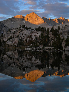 Mount Gardiner Reflection (Sixty Lakes Basin) Kings Canyon National Park, California. Copyright © 2006 All rights reserved.