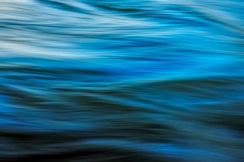 Chattahoochee River Study - Color Abstract #9