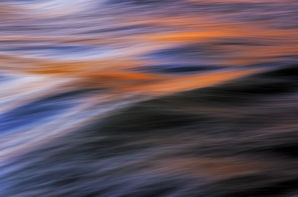 Chattahoochee River Study - Color Abstract #7