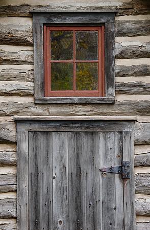Red Window_Bailey Homestead