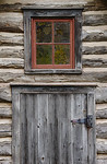 Red Window_Bailey Homestead
