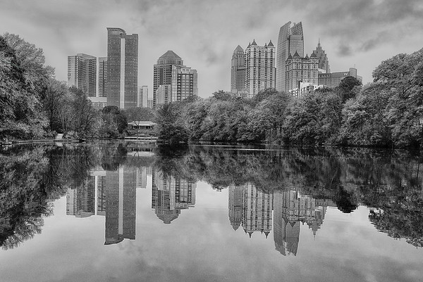 Midtown Atlanta Skyline (From Piedmont Park)