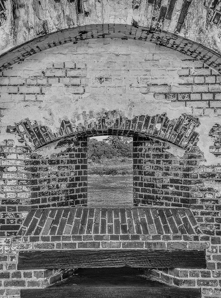 Cannon Embrasure, Fort Pulaski