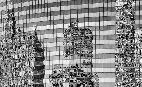 Building Reflections From Chicago River