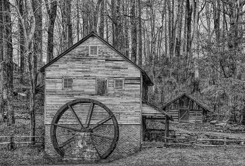 Grist Mill, Museum Of The Appalachians