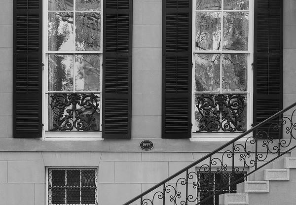 Windows And Staircase On Jones Street