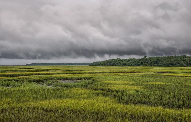 Storm Over Simpson Creek (Color)