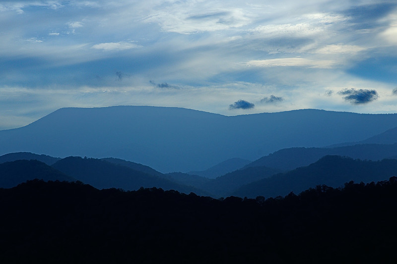 """Blue"" Mountains"