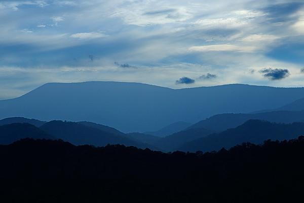 """""""Blue"""" Mountains"""