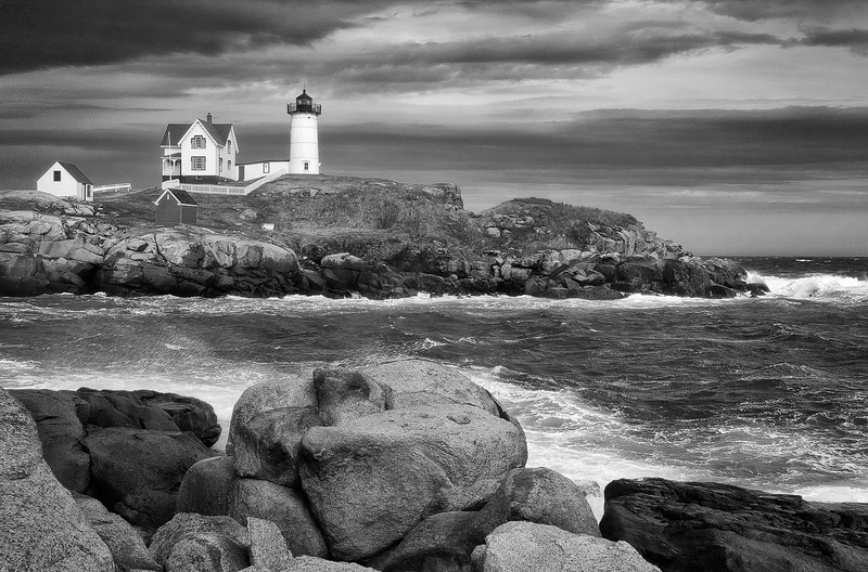 Nubble Light -  Cape Neddick, ME