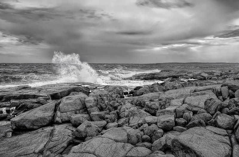 Breaking Surf - Cape Neddick, ME