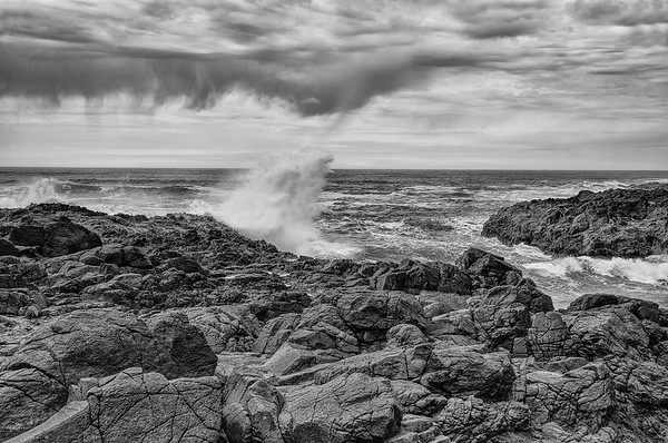 Devil's Churn At Cape Perpetua