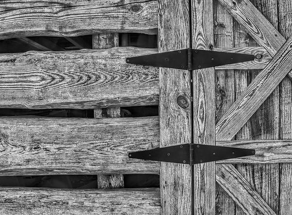 Cabin Door and Hinges