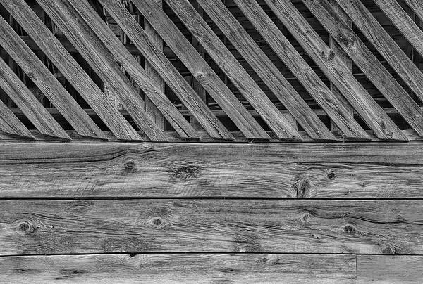 Slatted Barn Wall