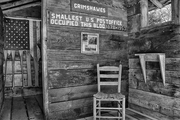 Grimshawes Post Office