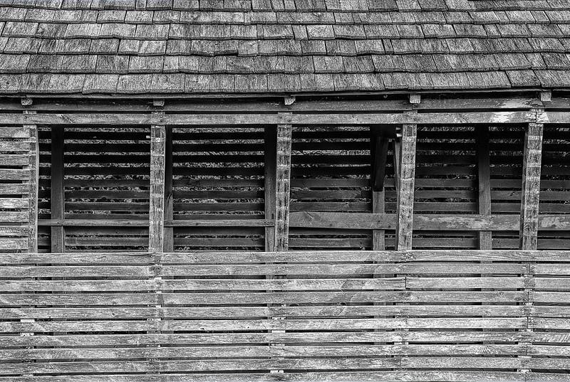 Corn Crib, Circa 1840