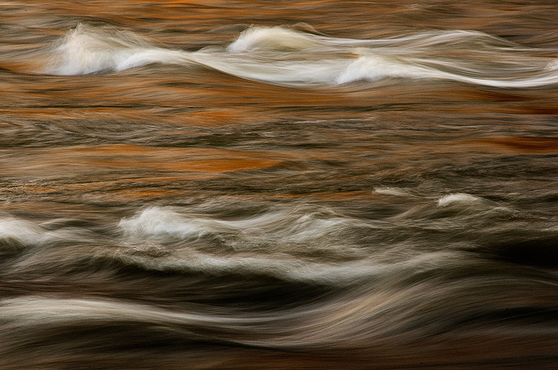 Chattahoochee River Study;  Color Abstract  #8