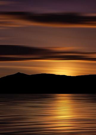 Sunset, Francis Lake
