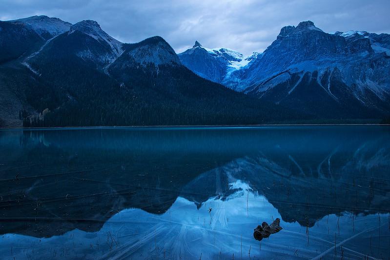 Blue Dawn At Emerald Lake