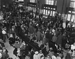 "L.A. Public Library Archive—1930s, ""Repatriation"" at Union Station"