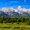 Summer Afternoon in Grand Teton National Park