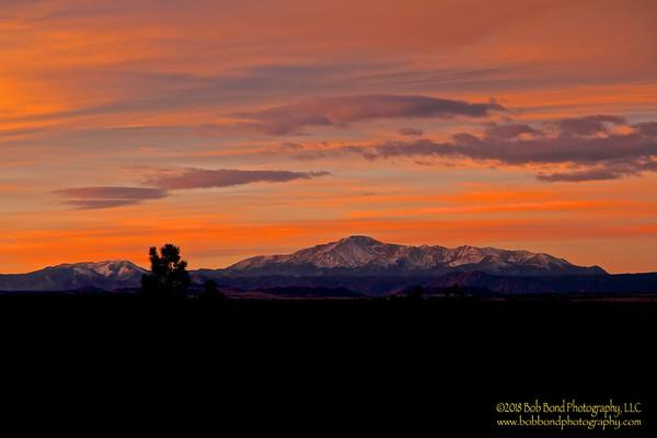 Pikes Peak Sunrise