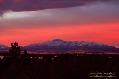 Pikes Peak Winter Solstice Sunrise