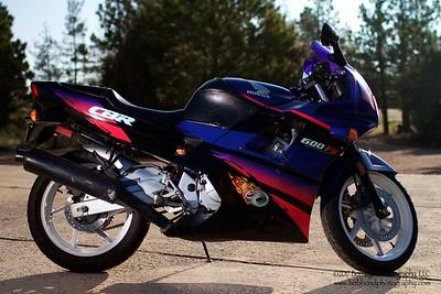 Honda CBR600F2  2