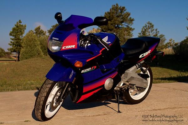 Honda CBR600F2  1