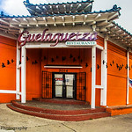 (Former) Front Entrance: The Murals of Guelaguetza Restaurant