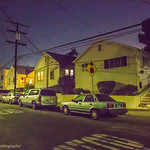 From the Night Moves, Series: The Block at Night: all in a row