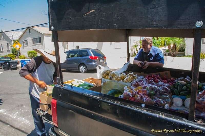 Vegetable Truck #1.