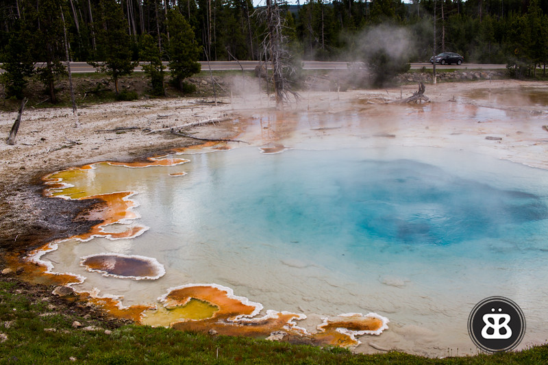The amazing colors of Silex Spring.
