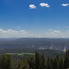The view from this side of Mt. Washburn includes the Grand Canyon of the Yellowstone.