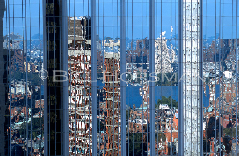 Boston's Back Bay reflection in 101 Huntington Ave