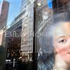 Manhattan Portrait in window NYC 1996