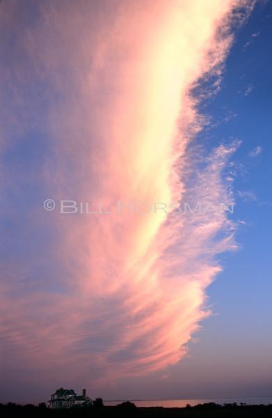 Storm clouds Pleasure Beach, CT 2001